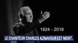 MORT DE CHARLES AZNAVOUR : ÉDITION SPÉCIALE - BFMTV