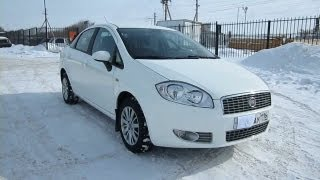 2010 Fiat Linea. Start Up, Engine, and In Depth Tour.