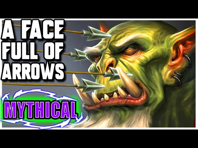 Grubby | WC3 | [MYTHICAL] A Face Full Of ARROWS!