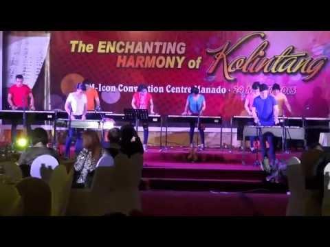 Kolaborasi DJ & Kulintang di Manado