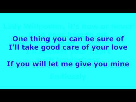 Lady Willpower -  Gary Puckett and the Union Gap - with lyrics