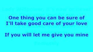Lady Willpower -  Gary Puckett and the Union Gap - with lyrics