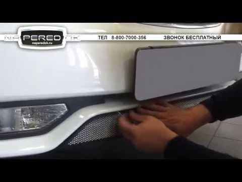 Защита радиатора на Daewoo Gentra Дэу Джентра naperedok