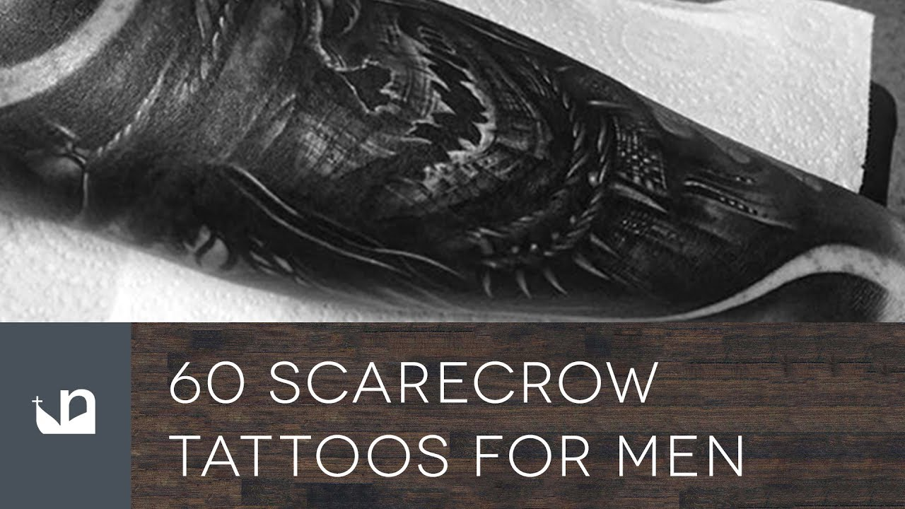 60 Scarecrow Tattoo Designs For Men – Supervillain Ink Ideas