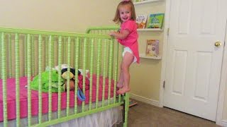 One of 8 Passengers's most viewed videos: BABY climbs out of crib!!!