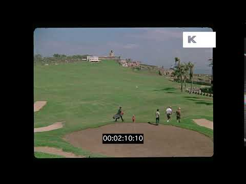 1960s, 1970s Caribbean Golf Course, HD from 35mm | Kinolibrary
