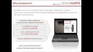 DeskAlerts Presentation