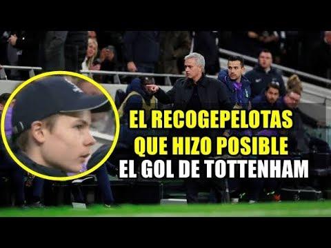 El recogepelotas del Tottenham que Mourinho felicitó ● Gran Remontada 4-2 | HD ⚽