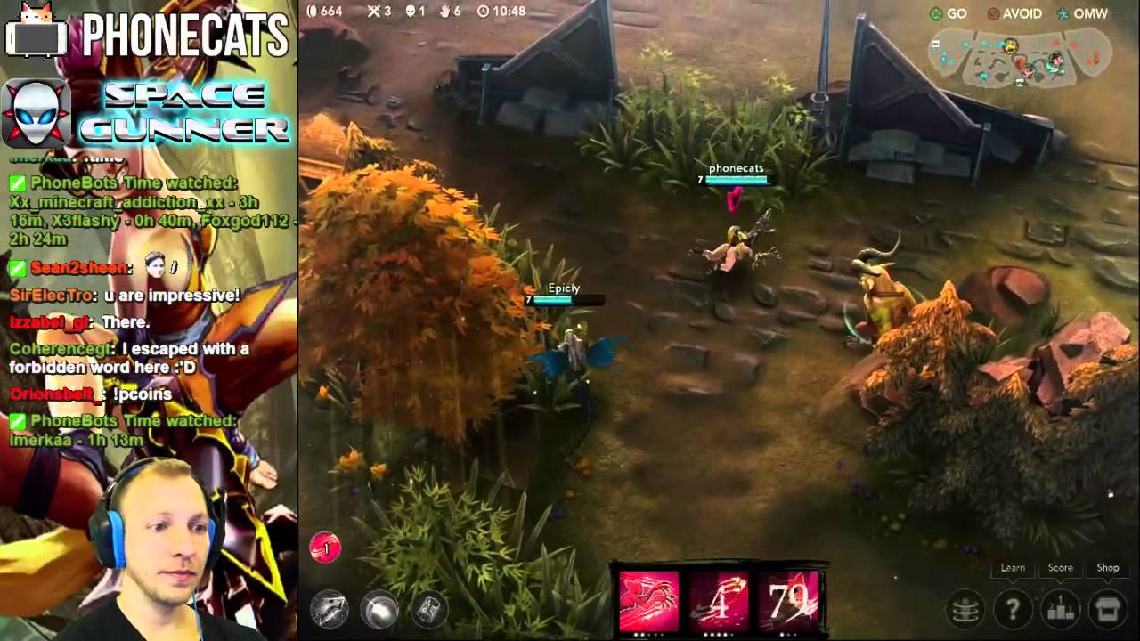 VainGlory - Free 3v3 Moba, Playing w Fans