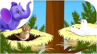 The Dove and the Wren – Nursery Rhyme with Karaoke