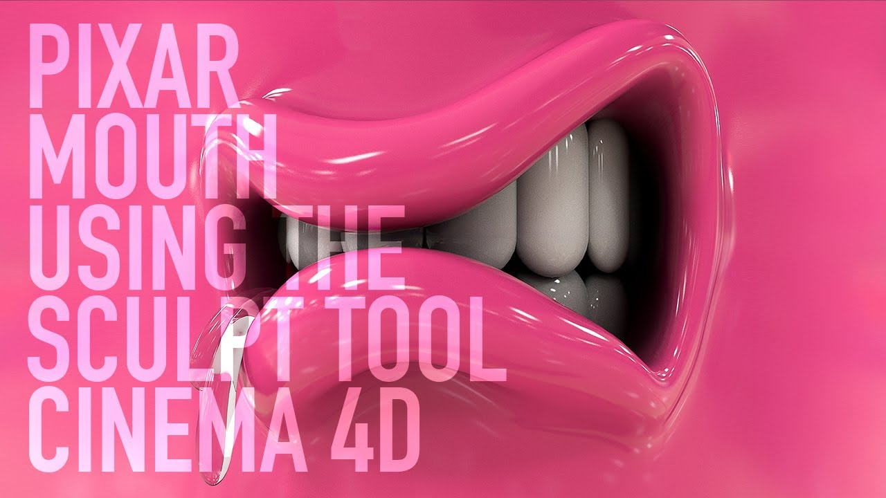 PIXAR INSPIRED MODELLING CINEMA 4D TUTORIAL
