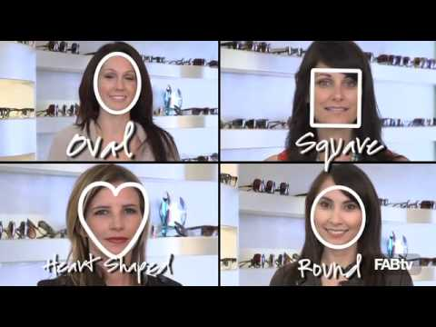 Best Glasses Frame Shape For Square Face : How to Find the Perfect Shades For Your Face! - YouTube