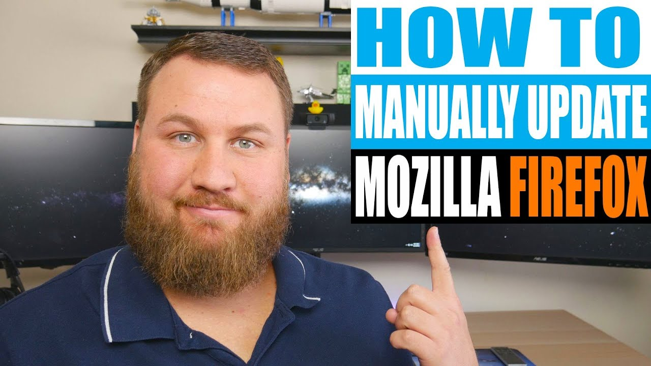 How to Update Mozilla Firefox