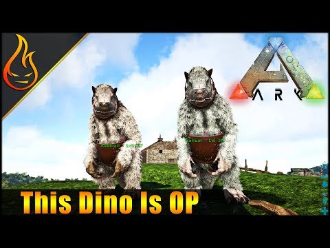Taming Megatherium and Easy Oil Gathering Ark Survival Evolved Ragnarok Multiplayer EP6