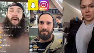 Download Wwe Snapchat Instagram Ft Seth Rollins Ronda Rousey