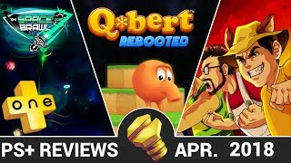 PLUSone - Q*Bert Rebooted | In Space We Brawl | 99 Vidas - PlayStation Plus Reviews