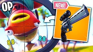 THE NEW REVOLVER A LUNETTE IS TROP CHEAT! 🔥 THE BEST OF FORTNITE#102