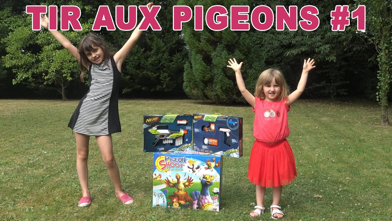 jouet la chasse aux pigeons est ouverte partie 1 studio bubble tea unboxing youtube. Black Bedroom Furniture Sets. Home Design Ideas