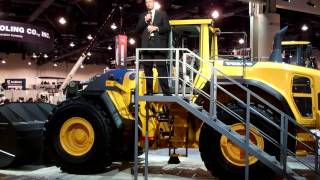 Video still for Volvo L250G Wheel Loader Unveiling