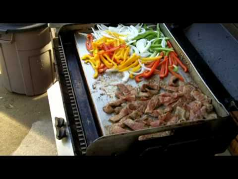 Fajitas On The Griddle Q Mp4 Youtube