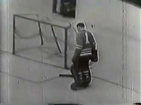 1962 HNIC Leafs Hawks Stanley Cup pregame