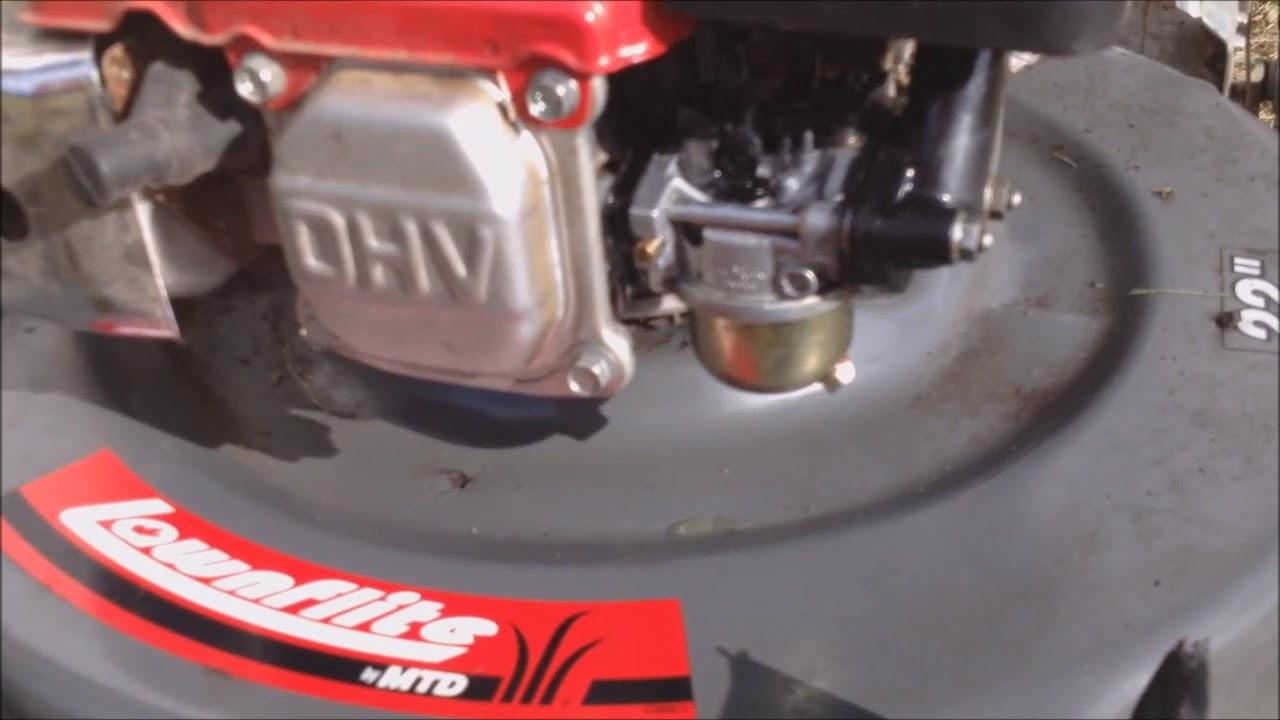 Daily Log - Honda Mower Carburetor Leak
