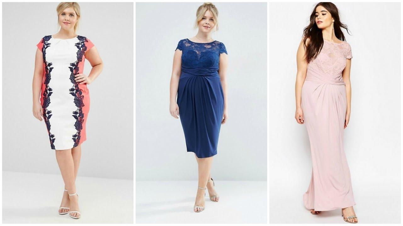 Vestidos Para Gorditas De Encaje 2017 Moda Tallas Grandes