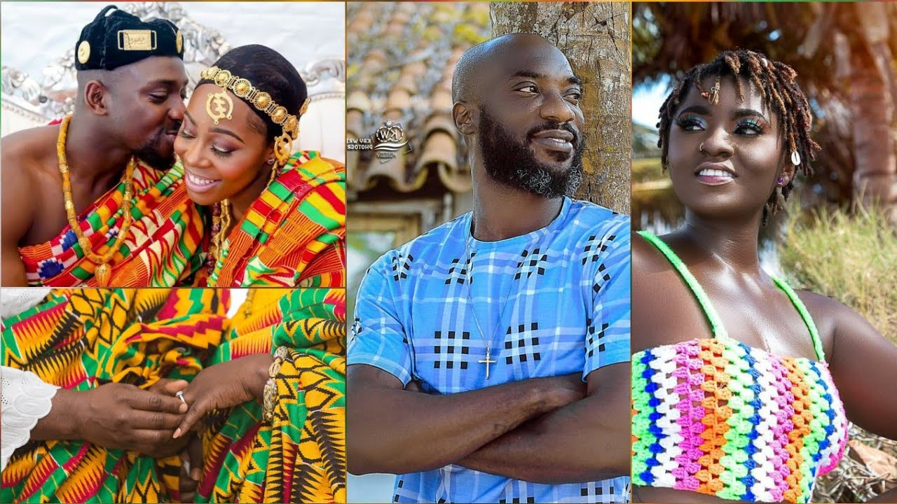 Kwabena Kwabena Marries Ahoufe Patri as Both Living Together...