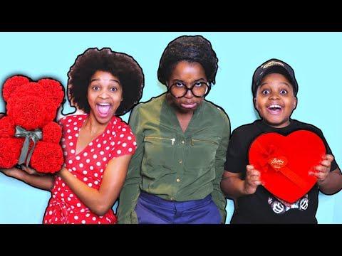 Secret VALENTINE'S DAY DATE! - Shiloh and Shasha - Onyx Kids