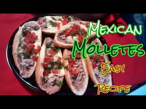 How to make Mexican Bean Sandwich