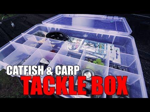 Catfish & Carp Tackle Box - Vlog #20