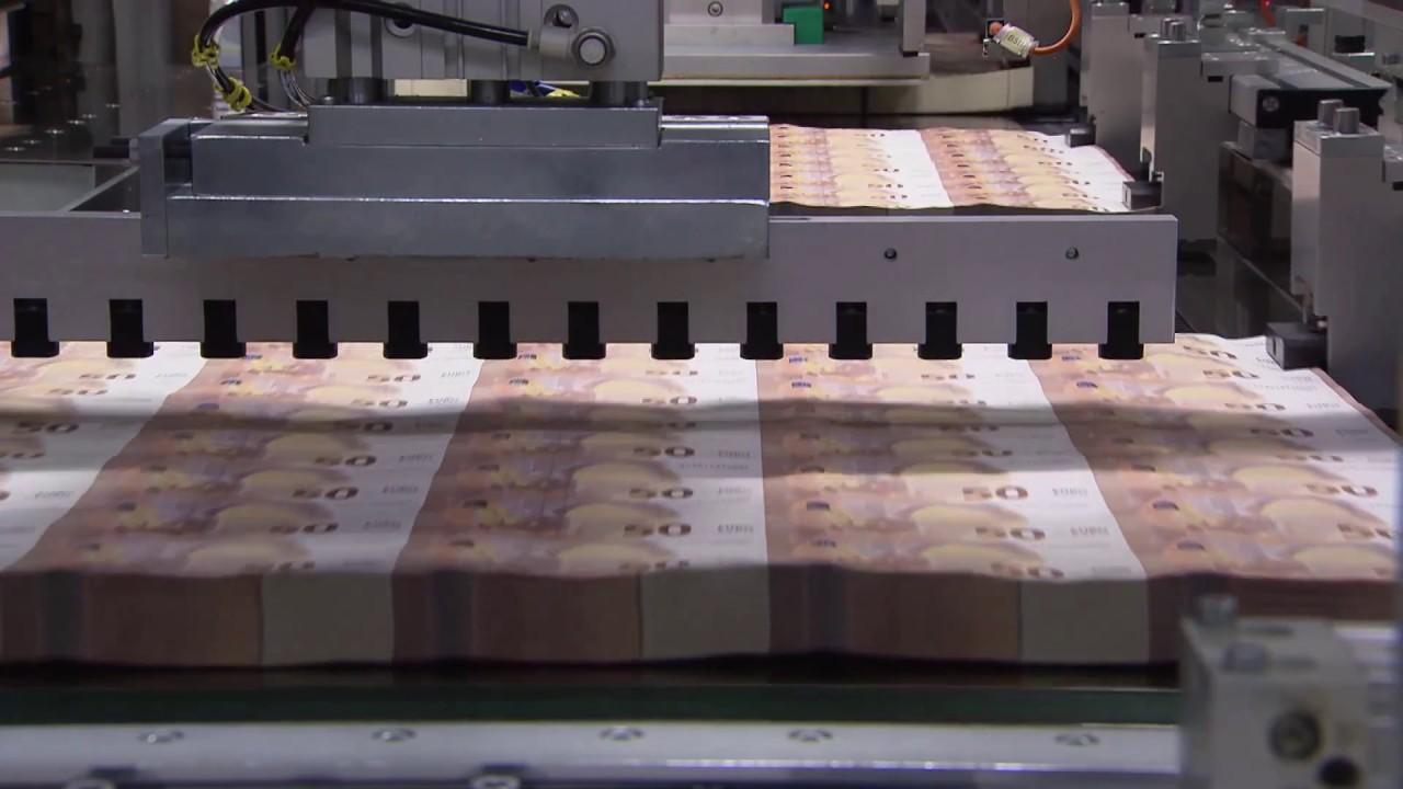 Note Printing Money Making machine By Hinditech - YouTube