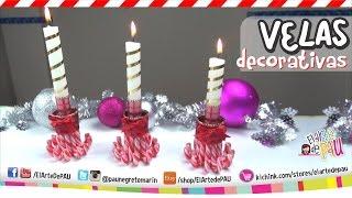 ❥DIY Decorated candles / Velas Decorativas Thumbnail