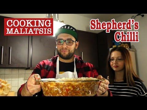 Cooking Maliatsis - 21 - Shepherd's Chilli