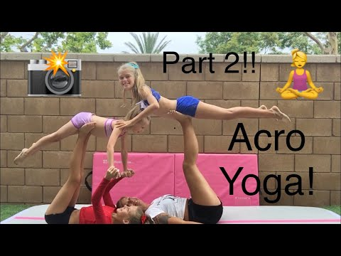 Recreating ACRO YOGA POSES Part 2 (Feat. Skylar)