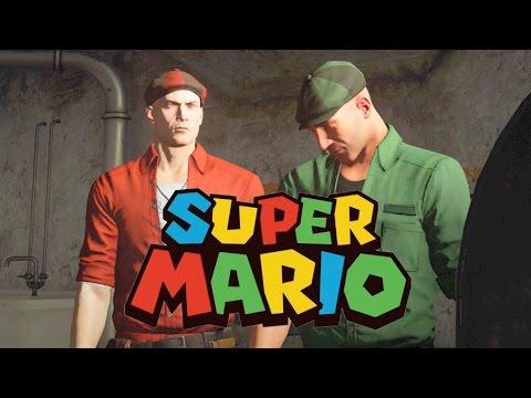 Hitman Season 1 Mario Brothers Easter Egg/Reference 4k UHD 2160p