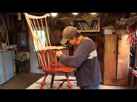 A Writing Arm Chair