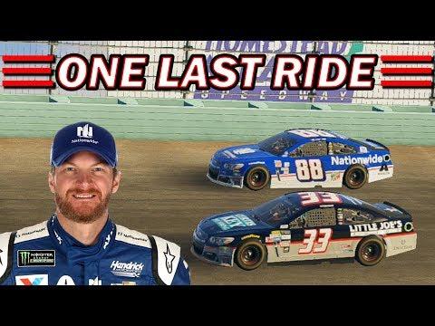 Dale Jr's LAST RIDE!