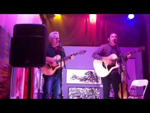 Scott Samuels with Michael Rennie at Artlab Studios 8-3-13