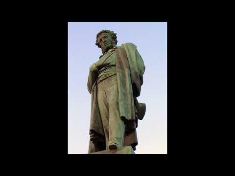Я памятник себе воздвиг нерукотворный. Пушкин Александр Сергеевич