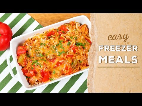 3 EASY Freezer Meals | Dinner Made Easy