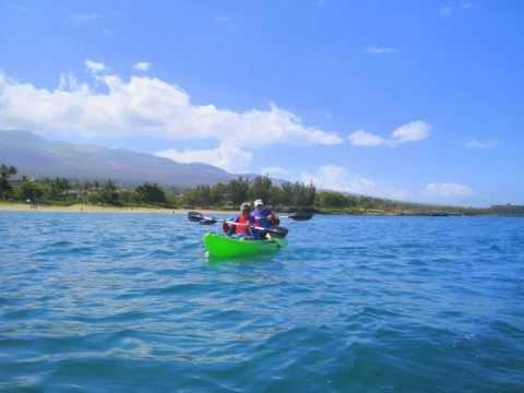 MauiWomensTours.com Kayaking in Kihei