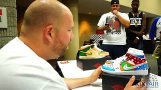 Mache Customs X Kixfair Atlanta Custom Sneaker Battle 2014