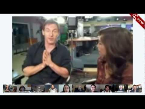 Myfox 11 Los Angeles Hangout with Jason Isaacs & Maria Quiban