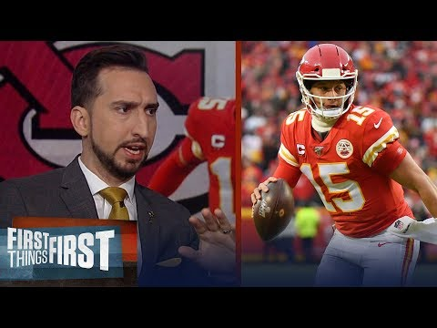 Chiefs beat Texans because they have best QB in football — Nick Wright | NFL | FIRST THINGS FIRST