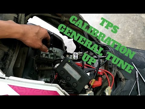 TPS Calibration and General Tune up Cleaning/adjustment/tuning