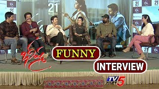 Bheeshma Movie Team Interview | Nithin | Rashmika | Brahmaji | Vennela Kishore | TV5