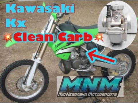 90-97 Kawasaki KX80 KX 100 Dirt Bike MX Carburetor Clean Carb Rebuild Kit 15001-1571 Gas Fuel