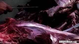 Halloween Leg Bone Axe Butchers BBQ