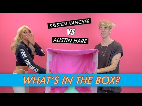 Kristen Hancher vs. Austin Hare - What's In The Box?